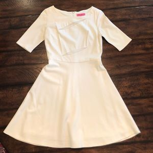 Cream Betsey Johnson Dress